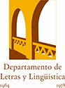 Resultado de imagen de departamento de letras y linguistica logo